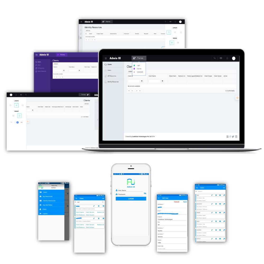 Identity Server Admin UI codestore