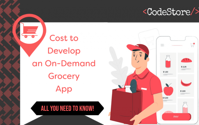 Cost to Develop an On-Demand Grocery App- All You Need To Know!
